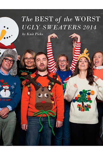 The Best of the Worst - Ugly Sweaters 2014 eBook.  Because you know that you need a new holiday gift tradition.  :)