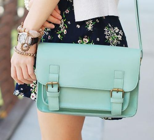 A woman needs many purses in her life <3