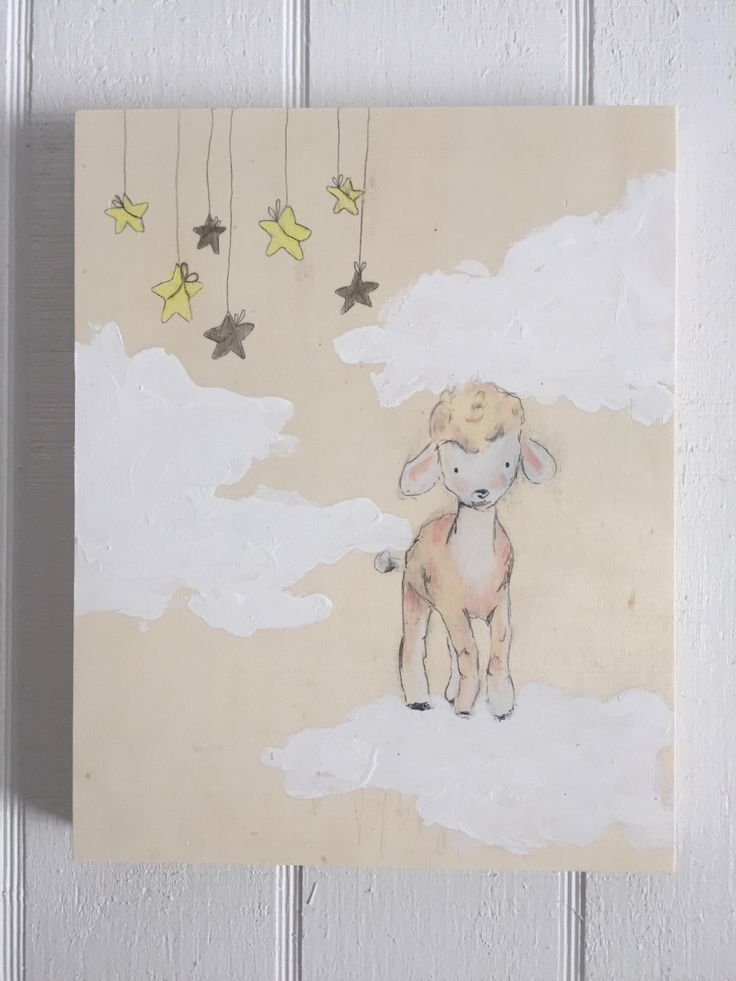 Sweet dreams sheep by muralsbyshauna on Etsy https://www.etsy.com/listing/267823579/sweet-dreams-sheep
