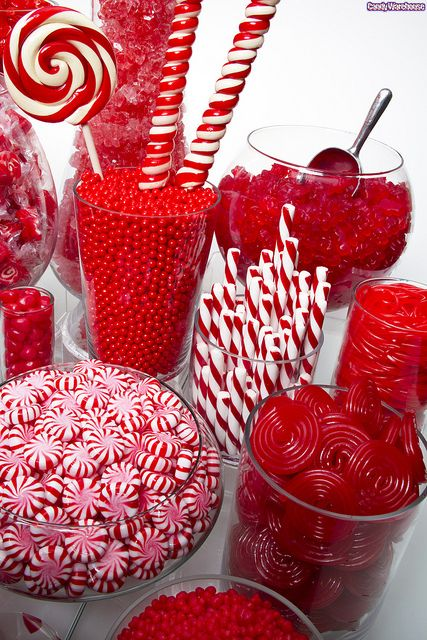 Red Candy Buffet! by candywarehouse, via Flickr