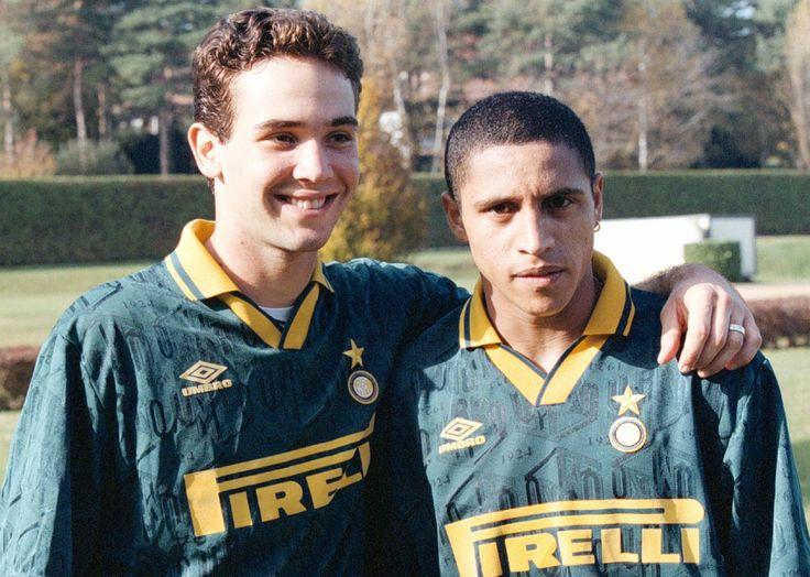 Caio Ribeiro et Roberto Carlos (Inter Milan)