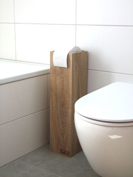 """Klopapierhalter - Toilettenpapierhalter """"MIDI"""", Klopapierhalter - ein Designerstück von KlausHeilmann bei DaWanda"""