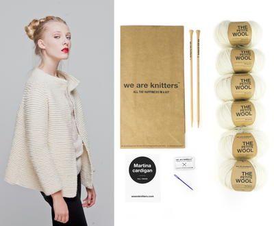Martina Cardigan Complete Knitting Kit