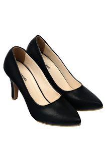 Jual sepatu wanita murah dan berkualitas: CLAYMORE Sepatu High Heels BB-701 Black