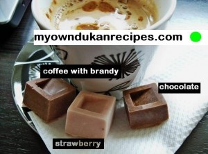 Chocolate, Strawberry or Coffee Dukan Pralines!!!