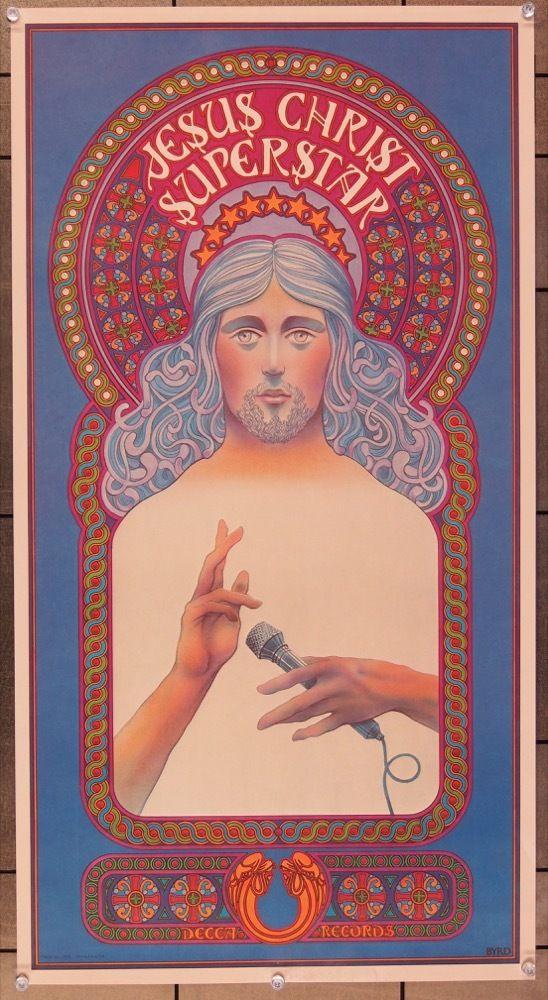 MovieArt Original Film Posters - JESUS CHRIST SUPERSTAR (1971) 25584, $150.00 (https://www.movieart.com/jesus-christ-superstar-1971-25584/)