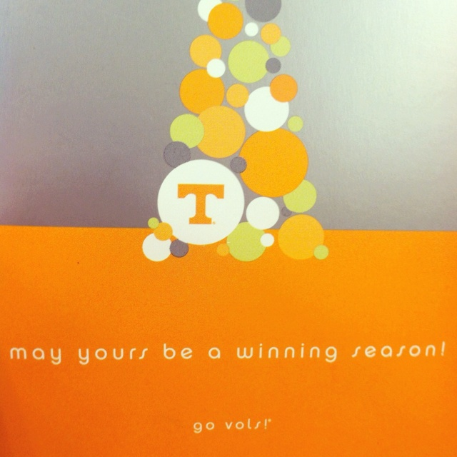 Merry Christmas and Go #Vols!