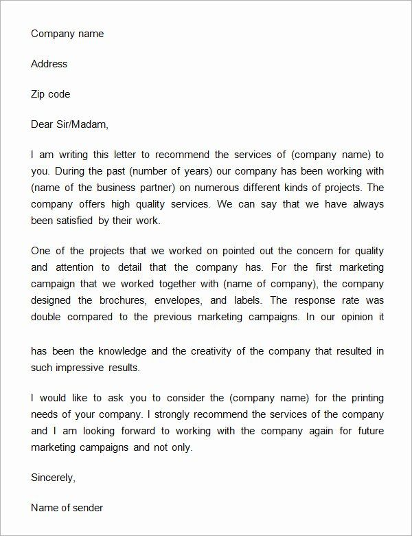Reference Letter For Company Services from i.pinimg.com
