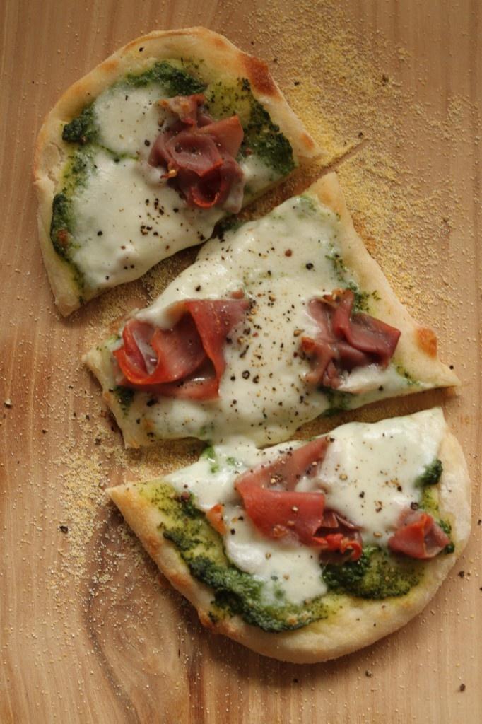 Burrata and Prosciutto Flatbread