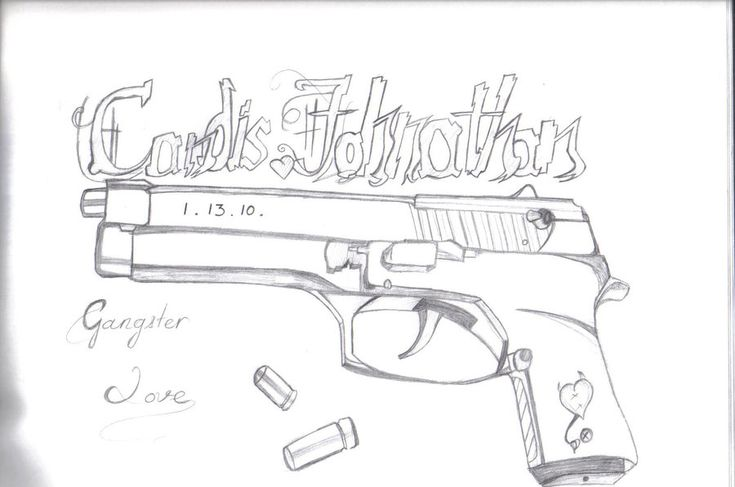 Gangster Cartoon Drawings | Spongebob Squarepants Gangster Drawings