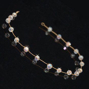 Emmeline Swarovski Crystal Headband