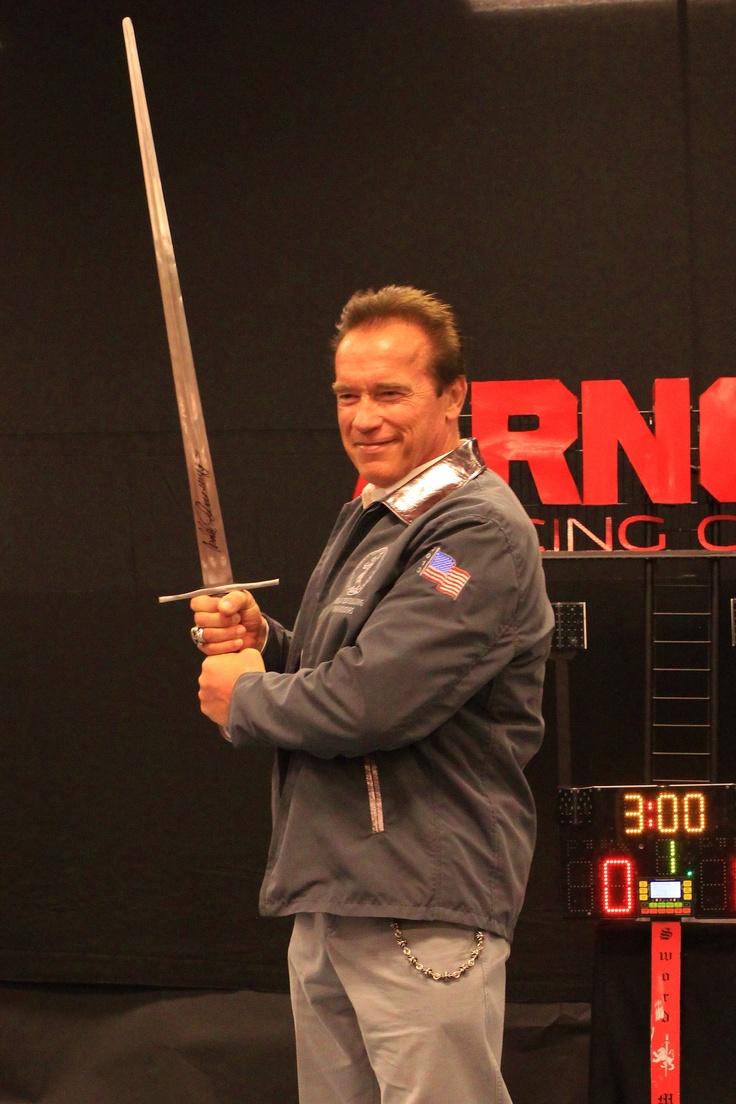 Conan The Barbarian Gets His Sword Arnold Fencing