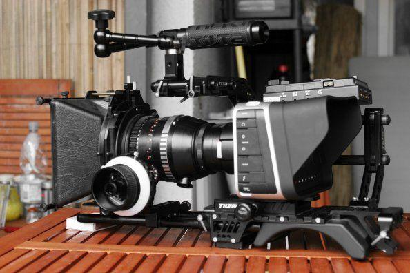 The next camera I'm purchasing the black magic cinema 4k camera