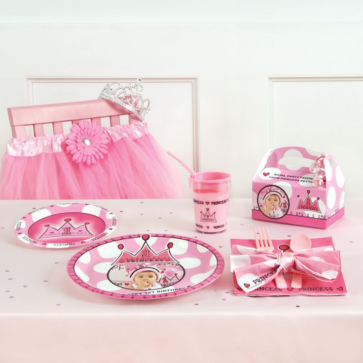 7 best Lil Princess 1st Birthday Party images on Pinterest
