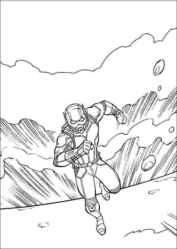 Ant Man Wasp Coloring Pages Malarbok