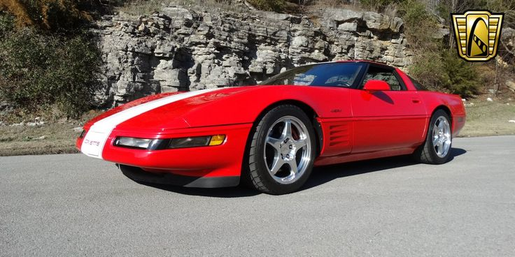 For sale in our Nashville, Tennessee showroom is a Red/White w/Stripes/Flames 1991 Chevrolet Corvette ZR-1 5.7L V8 MPI DOHC 32V 6-Speed manual . Click for more details.