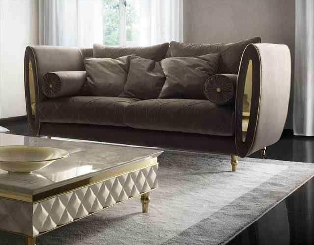 Source Luxury High End Design Brass Living Room Velvet Sofa On M Alibaba Com In 2020 Luxury Sofa Living Room Luxury Furniture Sofa Luxury Sofa