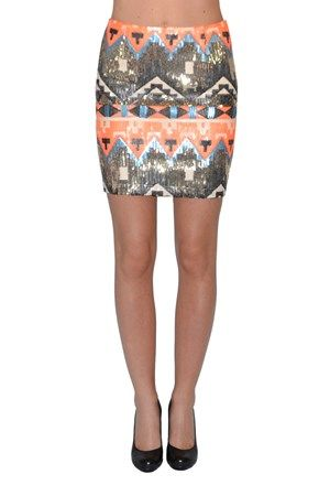 Ida Skirt Inca Sequins