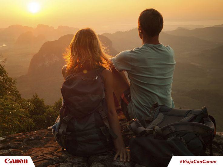 Cuando viajes recuerda llevar contigo tarjetas de memoria para tu respaldo. #ViajaConCanon