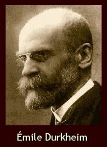 Émile Durkheim Biography