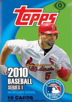 2010 Topps Baseball Cards Series 1