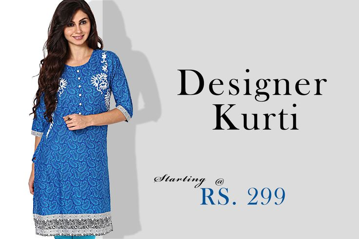 Get fashionable in an Ethnic style. Click here to know more > http://hytrend.com/women/ethnic-wear/kurtas-kurtis.html