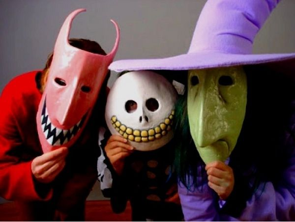 DIY scary halloween masks kids halloween party ideas : halloween costumes without masks  - Germanpascual.Com