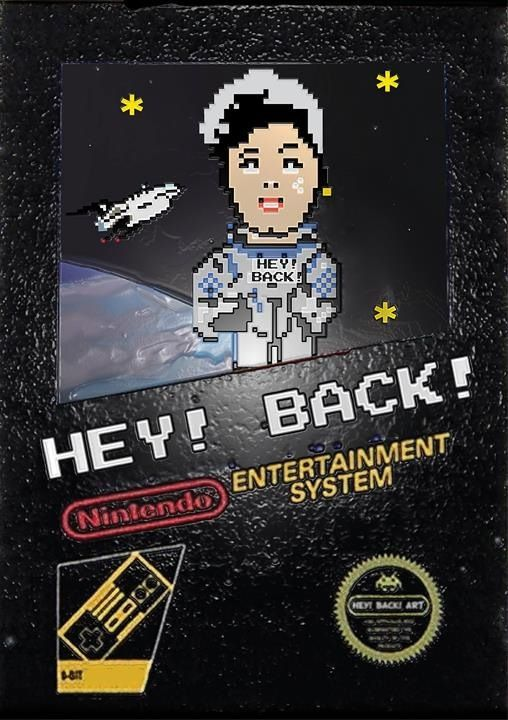 AstroBack 8 bit art  www.heyback.it
