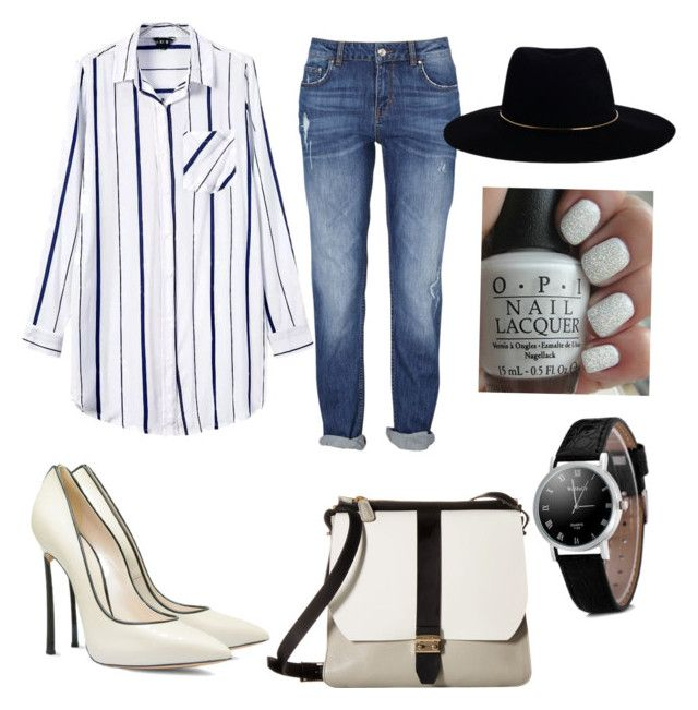 """""""☺️"""" by oktaeprimsus on Polyvore featuring Casadei, Furla, Zimmermann and OPI"""