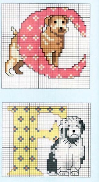 Dogs Alphabet 2