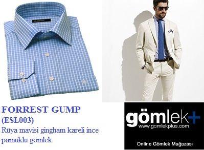 krem rengi bir takım elbise mavi bir kravatla tamamlayabileceğiniz bu harika gömleğe sadece 55TL'ye sahip olun.  sipariş için: http://www.gomlekplus.com/urun/forrest-gump--esl003-_218.aspx?CatId=140&tabId=123