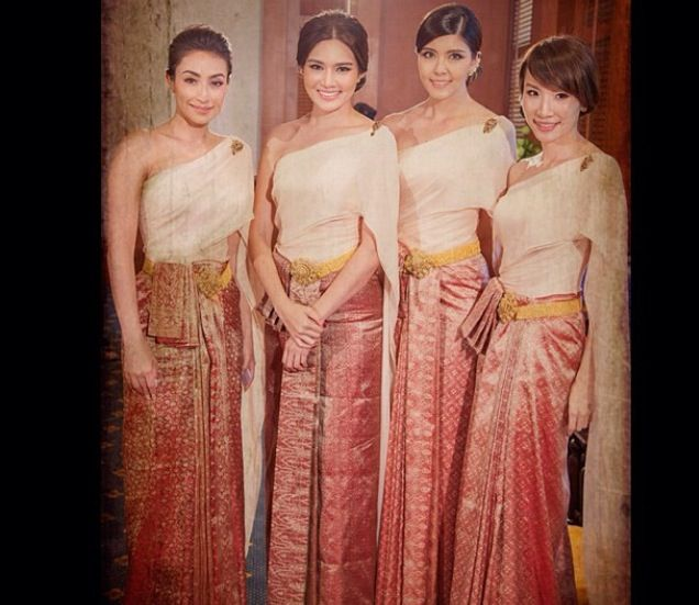 Thai Wedding Gowns: 75 Best Images About Thai Beauty On Pinterest