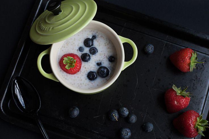 Budino di semi di Chia – Chia Pudding with Fruit