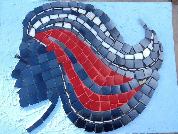 Hair 2 just for U by MosaicmagicArt on Etsy, $200.00