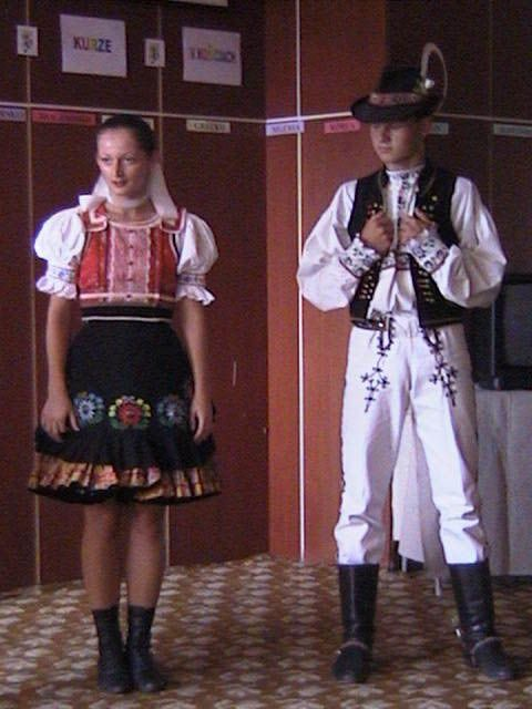traditional Slovac dress