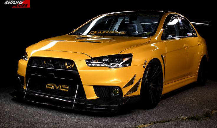 Always down with Yellow EVO's