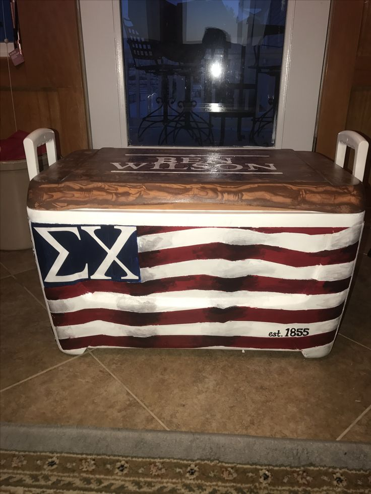 Sigma chi fraternity cooler formal