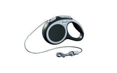Flexi Vario Mini Cord Retractable Belt Dog Leash Safety Pet Collar Granite 18lbs