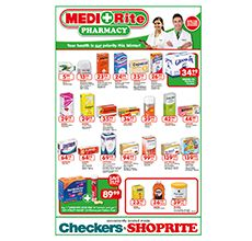 Please don't feel any pains with our medi + rite at checkers store