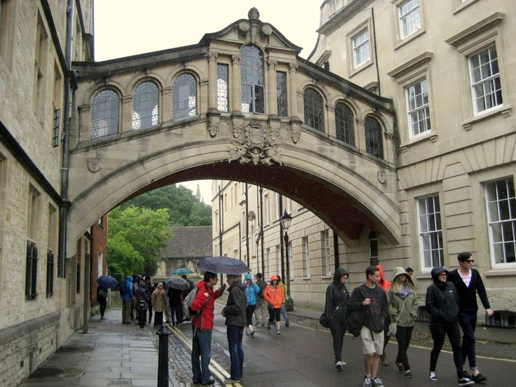 Hertford Bridge, popularly known as the Bridge of Sighs, is a skyway joining two parts of Hertford College over New College Lane in Oxford.