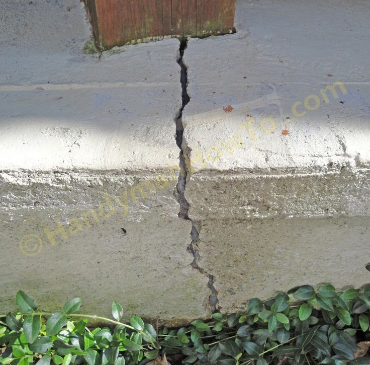 What Is The Best Way To Fill A Hole In A Concrete Basement Floor: 13 Best Concrete Foundation Repair Methods Images On Pinterest
