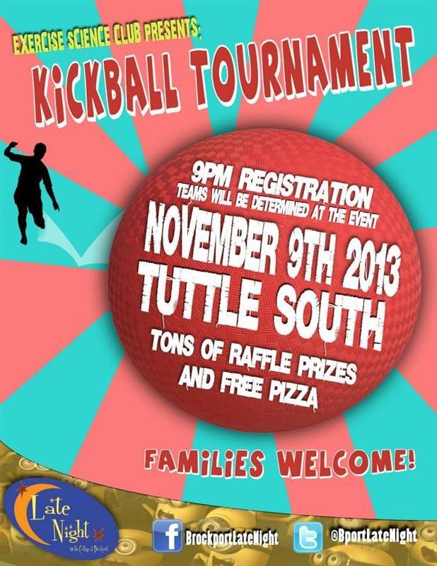 flyer for kickball tournament