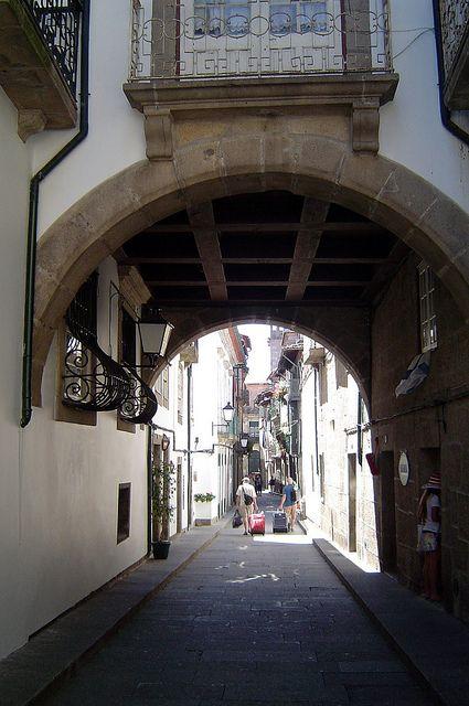 Medieval Arch, Guimarães, Portugal