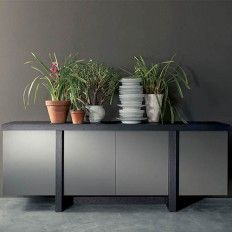 Contemporary T-Line sideboard by Fimar