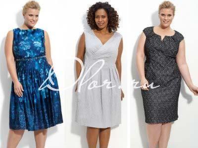 Платье для полных шить