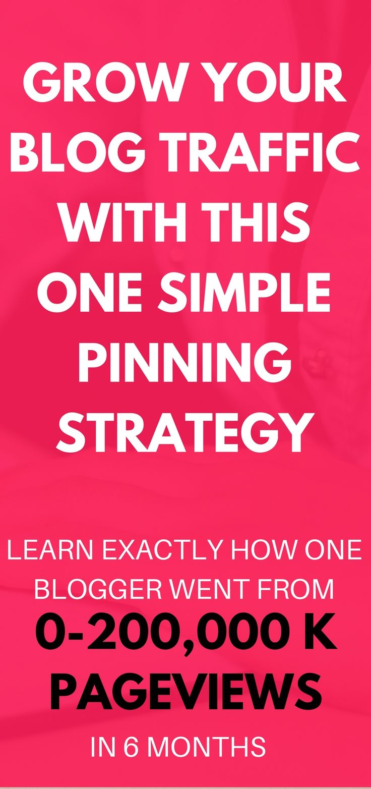 The pinning strategy to grow your blog traffic is truly amazing! I'm thrilled that I learned about this method of pinning for increased page views! Definitely pinning!