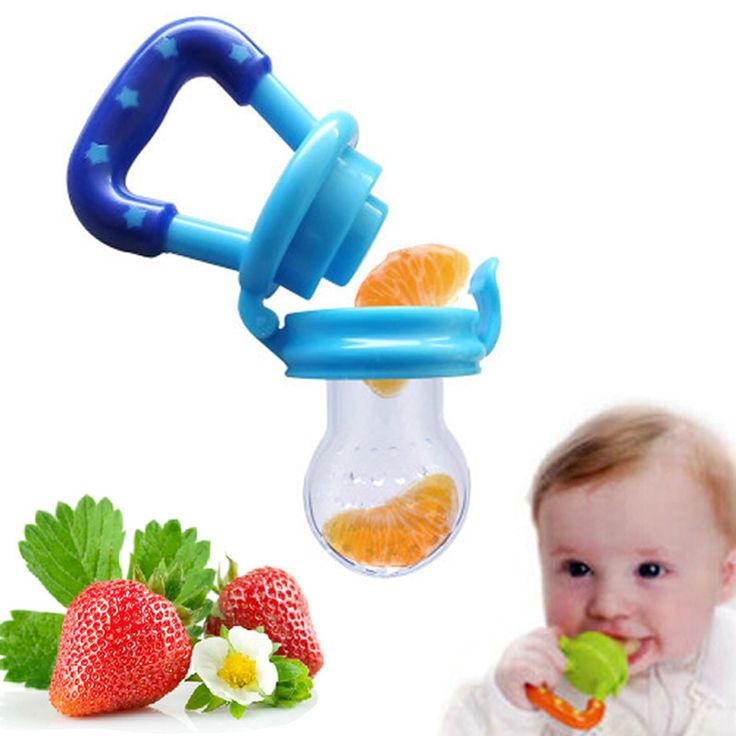 Baby Pacifier - Fresh Food And Milk Nibbler - Weaning Pacifier