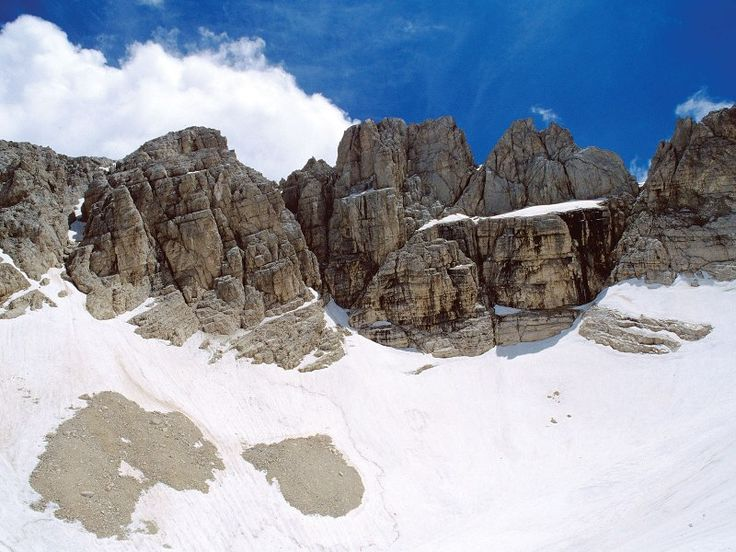Ghiacciaio del Calderone Parco Nazionale del Gran Sasso e Monti della Laga