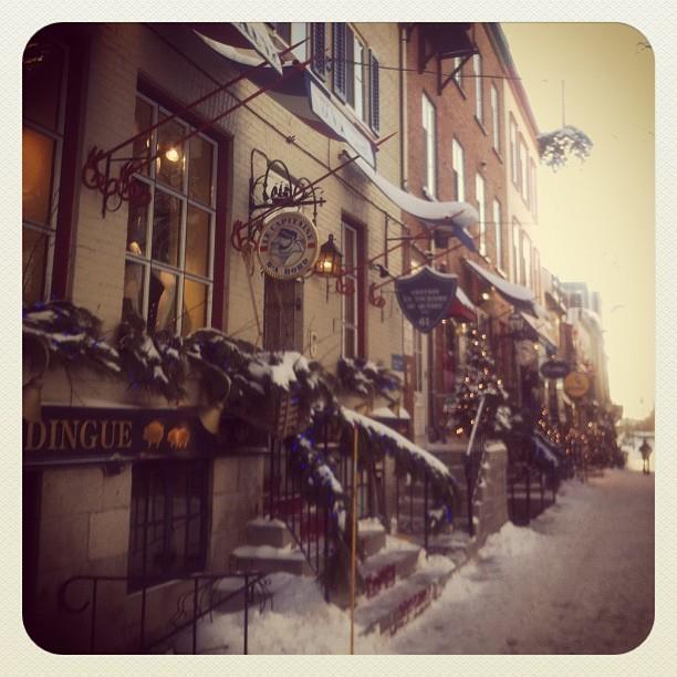 59, Petit-Champlain (l'hiver)