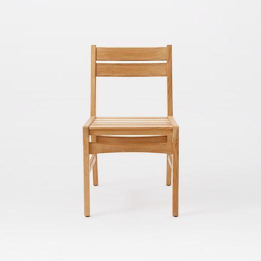 Mid-Century Dining Chair - Teak | west elm | Mid century ...